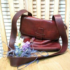 I Medici Firenze Italian Leather Crossbody Bag